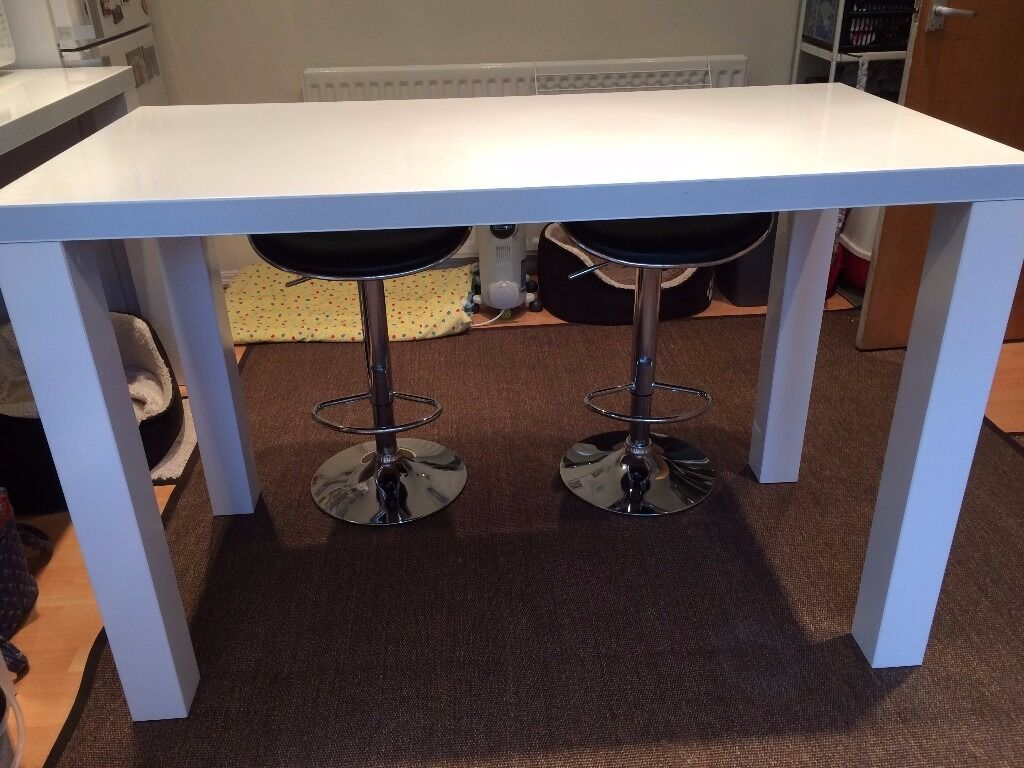 ikea bar table and chairs upholstered for sale toresund breakfast in whickham tyne