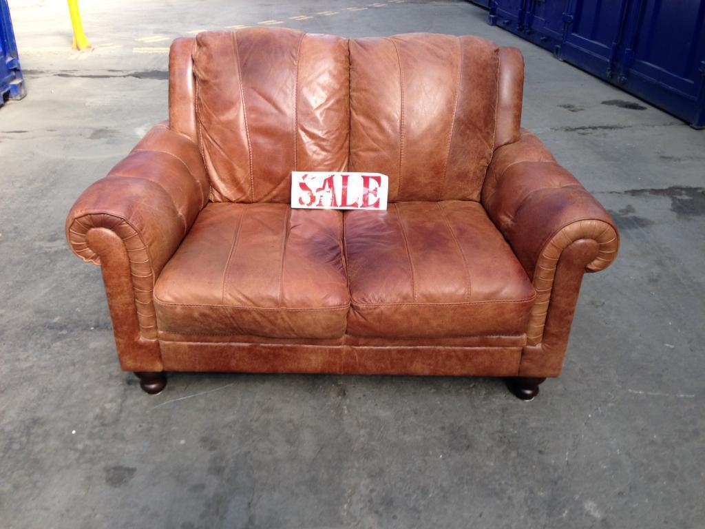 distressed leather corner sofa uk repair kit for chesterfield tan 2 seater settee