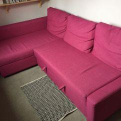 Pink Sofa Bed For Sale Reclining Kijiji Ikea Friheten In Leicester