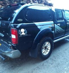 breaking black 2005 nissan navara d22 yd25 outlaw manual 4x4 double cab parts spares [ 1024 x 768 Pixel ]