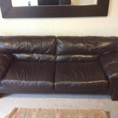 3 Seater Leather Sofa Dfs How To Dispose Your Latino In Aston Clinton