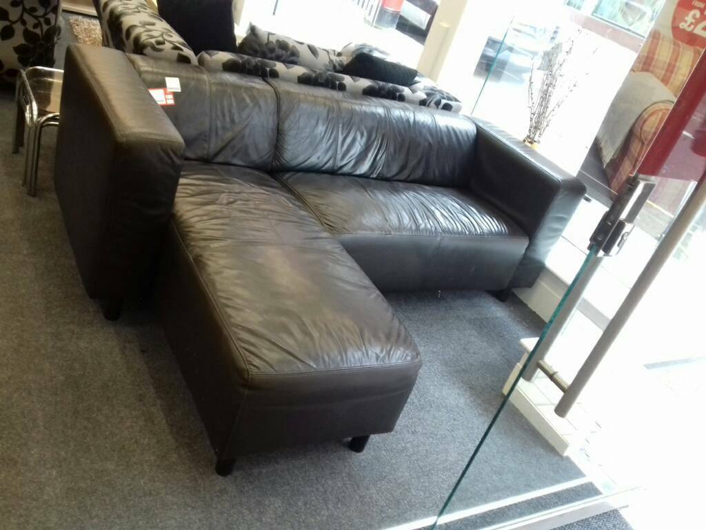 sofa shops glasgow city centre cat urine smell on brown leather corner at bhf in