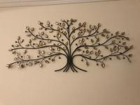 Large metal tree wall art | in Bridgend | Gumtree