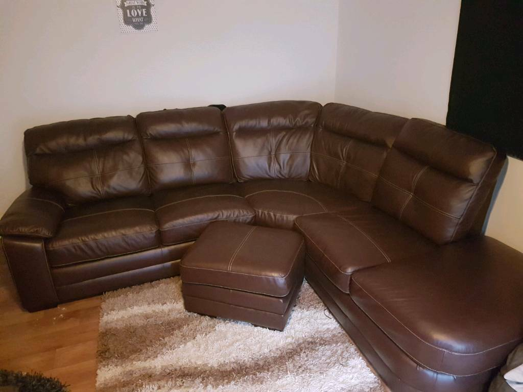 scs leather sofas and chairs sofa into bed chocolate corner with chair puffer