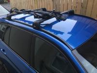 Thule roof rack & 598 bike BMW touring f31   in Lisburn ...
