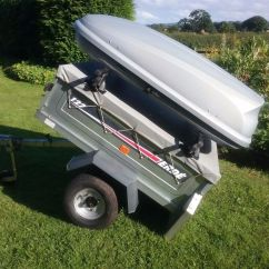 Chair Covers Hire Shropshire Teak Kitchen Chairs Erde 122 Trailer Including Roof Box And Bars In