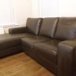 Cheap Italian Leather Sofas Uk Under The Sofa Table Dark Brown Corner In Newry County
