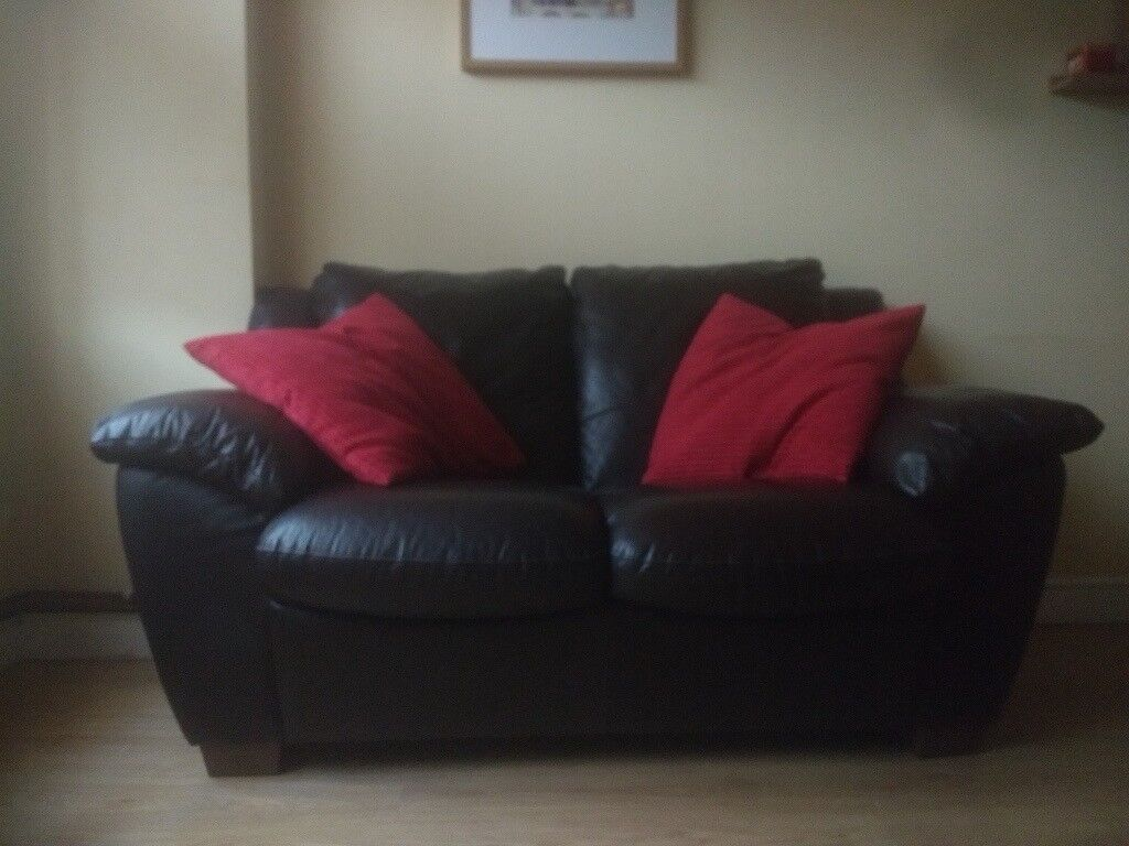 sofa london gumtree andorra 3 seater 2 set real leather very good condition in seven sisters