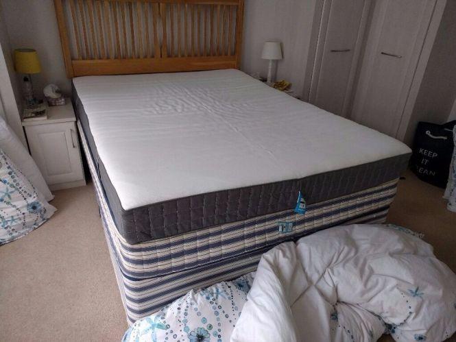 Memory Foam Mattress Or Topper Standard King Medium Firm Ikea Morgedal