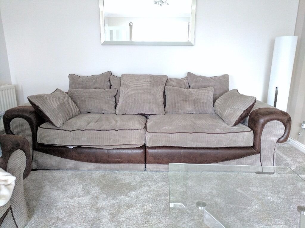 three seater recliner sofa condo size table trevena still for sale in sofology, under a year old ...