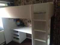 IKEA Bunk Bed with Desk, Shelves and Wardrobe (Kids Loft ...