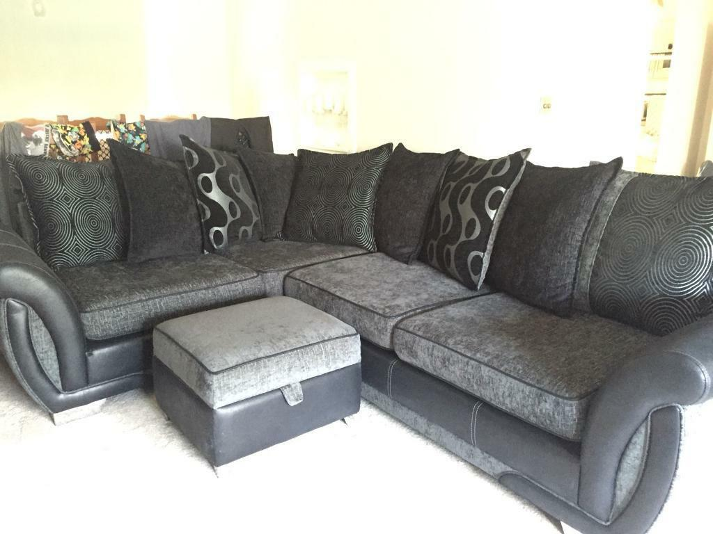corner sofas glasgow gumtree lazy boy pinnacle sofa reviews dfs shannon couch suite and storage footstool