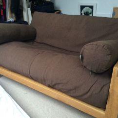 Bristol Sofa Beds White Bonded Leather Futon Roselawnlutheran