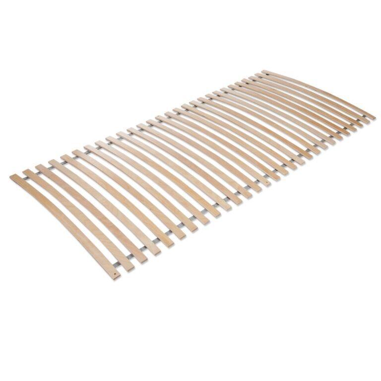 Lattenrost, Rollrost Rahmenlos 90x200cm, 28 Latten, Birke TOP Qualität