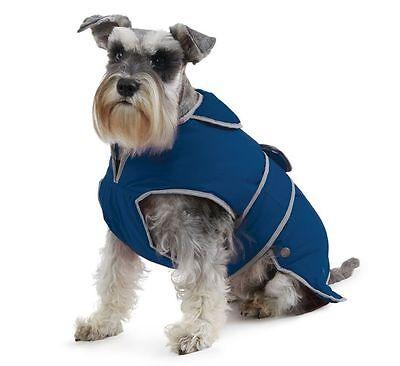 Ancol, Matsch- und Regenmantel für Hunde, Größe: XL blau HundeJacke Mantel++