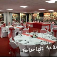 Chair Cover And Sash Hire Nottingham Large Leather Derby Sheffield 5ft Light