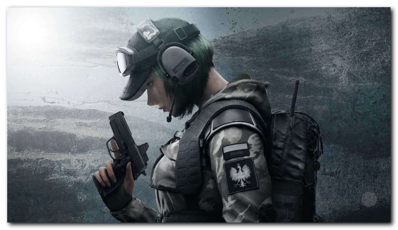 details about new ela tom clancys rainbow six siege game silk wall poster size 24x36 inches