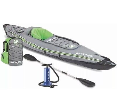 Sevylor K5 QuikPak Inflatable 1 Person Kayak Max Weight Limit 250lbs *SHIP FAST*