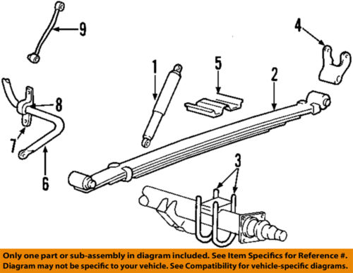 Ford F 250 Super Duty Suspension Diagram
