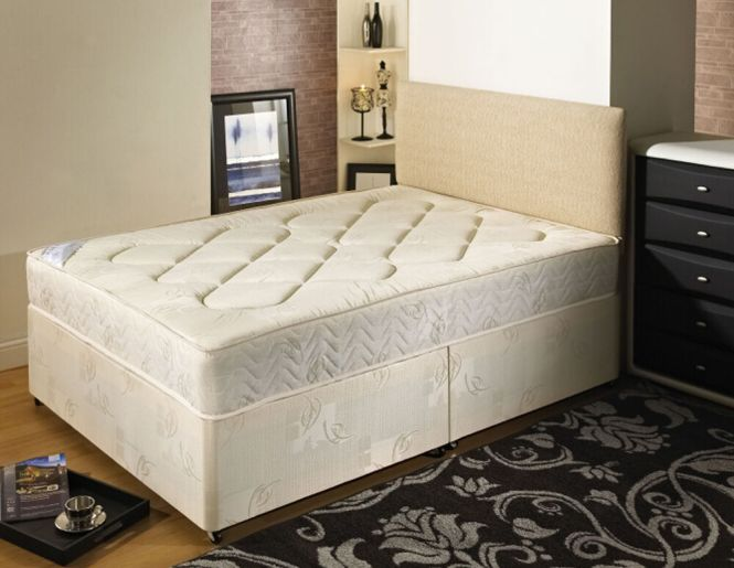 14 Day Money Back Guarantee Kingsize Deep Quilted Bed