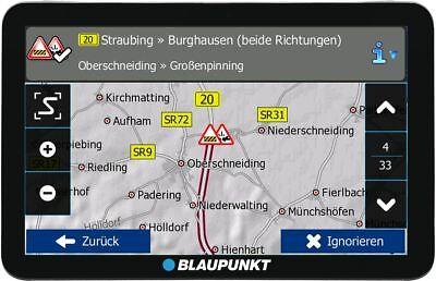 Blaupunkt Travelpilot 73² CE LMU 7 Zoll KFZ Auto Navigationsgerät Zentraleuropa