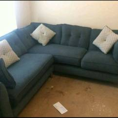 Scs Leather Corner Sofa Bed Chesterfield Fabric Dfs In Team Valley Trading Estate Tyne And