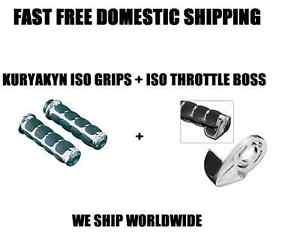 New Kuryakyn ISO Grips ISO Grips ISO Throttle Boss