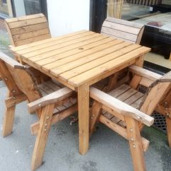 Garden Sofa And Table Sets Chesterfield Style Fabric Uk Charles Taylor Outdoor Patio Solid Wood