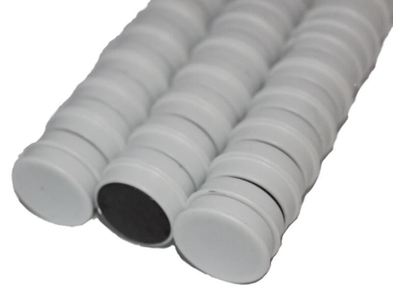 50 x Magnete, Weiß ɸ 24mm, Haftmagnete für Whiteboard, Kühlschrankmagnet