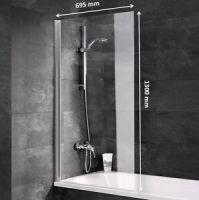 Duschabtrennung Badewannen Faltwand Duschwand ...