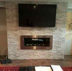 STONE VENEER, FIREPLACE STONE, MANUFACTURED STONE,CULTURED