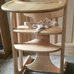 Stokke Chair Harness Recliner That Stands You Up High Highchair Wooden Grow With Your Child Mothercare | In Merthyr Tydfil Gumtree