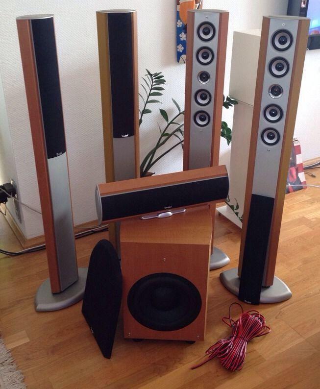 5 1 Soundsystem Wohnzimmer