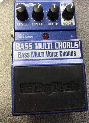 Digitech X-Series Multi Voice Chorus Guitar/ Bass Effects Pedal