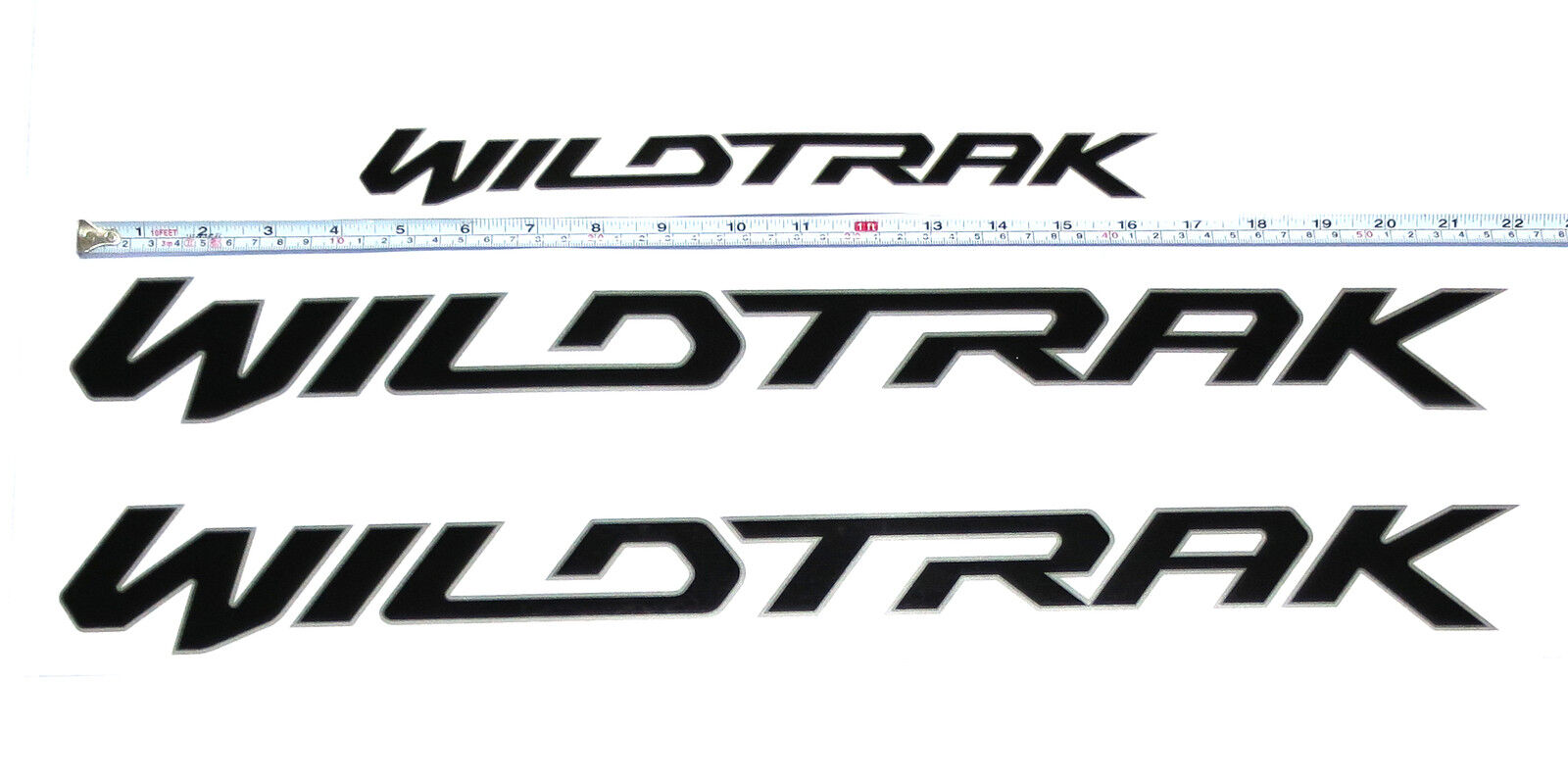 Wildtrak Rear Tailgate Logo Emblems Badge Decals Plate