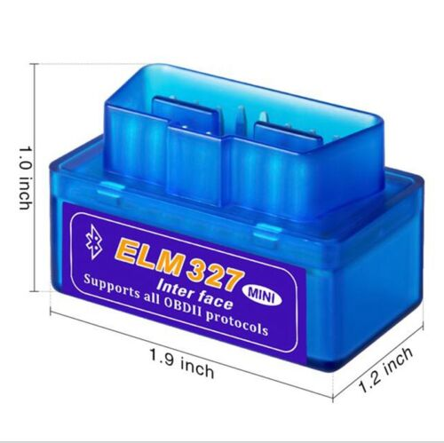 Mini ELM327 OBD2 II Bluetooth Diagnosegerät Testgerät Interface Auto Scanner
