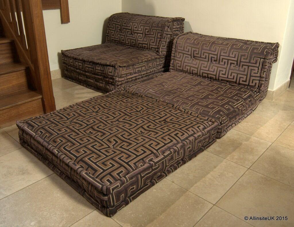 art deco sofas on gumtree colored leather sofa sets original roche bobois mah jong futon bed in bespoke