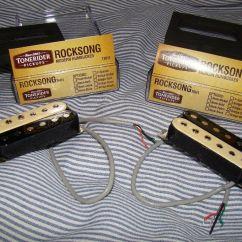 Wilkinson Humbucker Pickups Wiring Diagram 2000 Jeep Wrangler Ignition Zebra Cream Tonerider Rocksong Trh1 Bridge And Neck Alnico