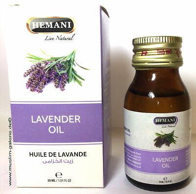 Original Hemani Lavendelöl Lavender Oil *Ätherisches körperöl & anti Stress*