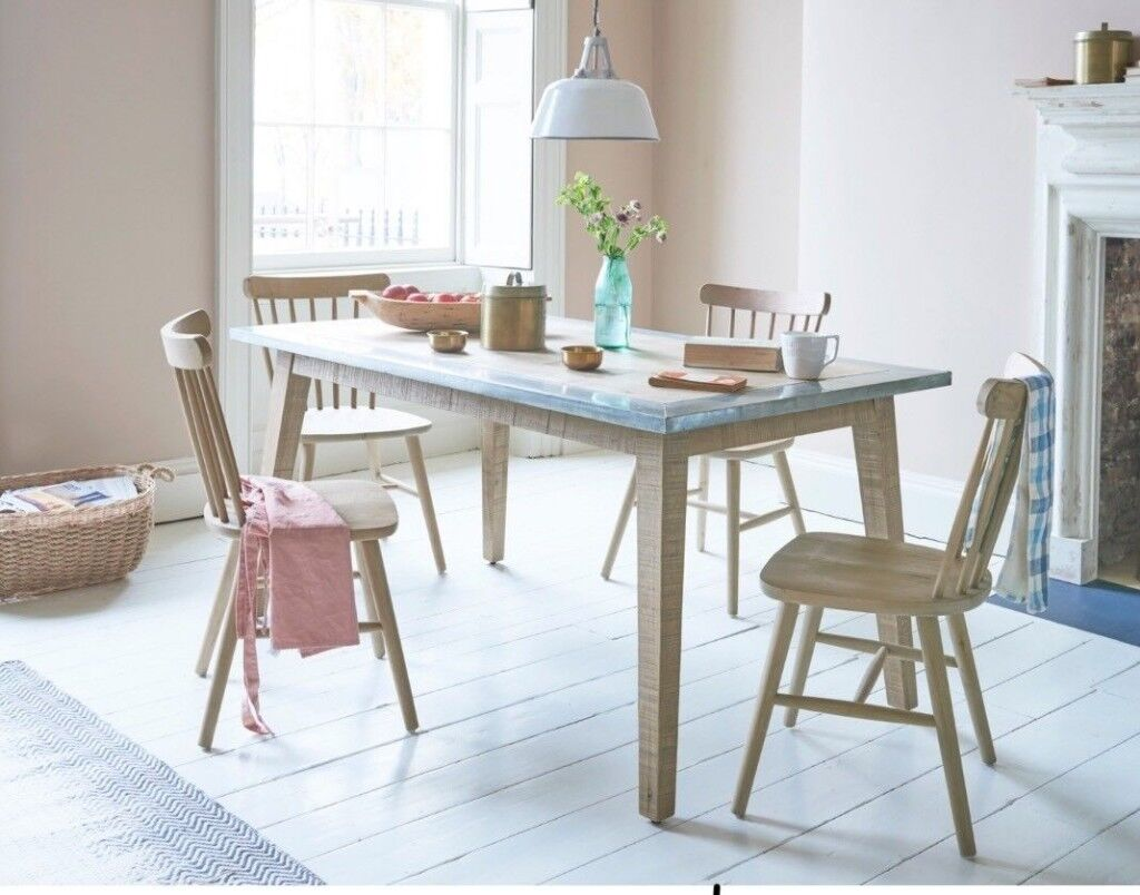zinc kitchen table honest dog food reviews loaf contemporary dining rrp 785 in norwich norfolk