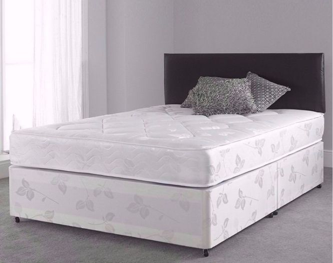Brand New Uk Manufactured Divan Bed In King With Orthopaedic Mattress Same Day Delivery