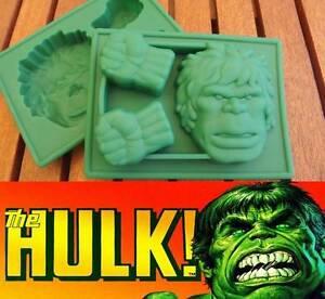 Incredible Hulk Silicone Chocolate Mold Ice Tray Fondant
