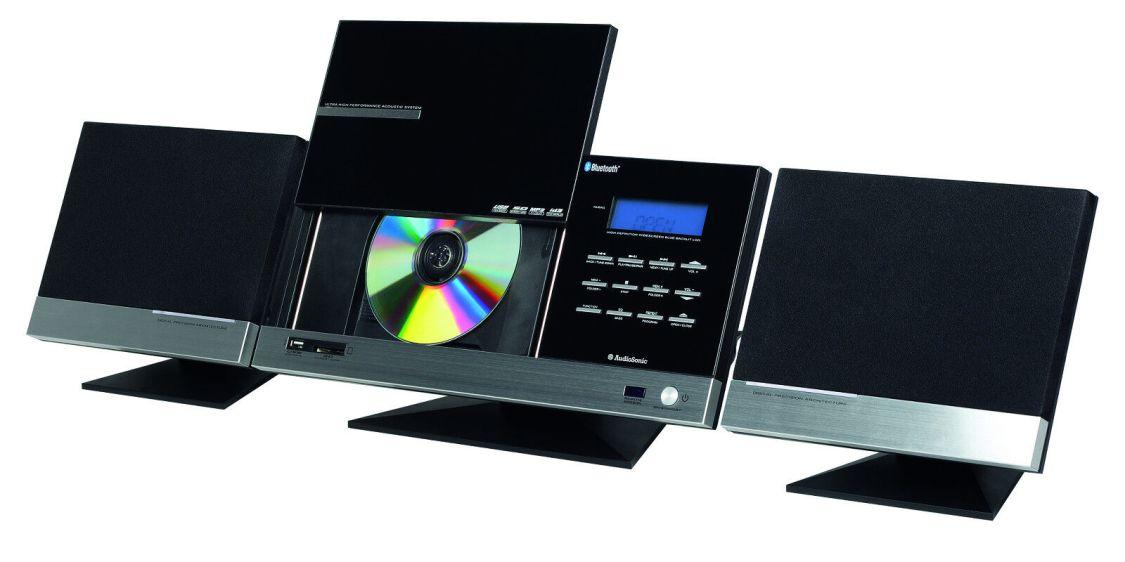 Hochwertige und stylische AudioSonic Bluetooth-Stereoanlage (Kompaktanlage)