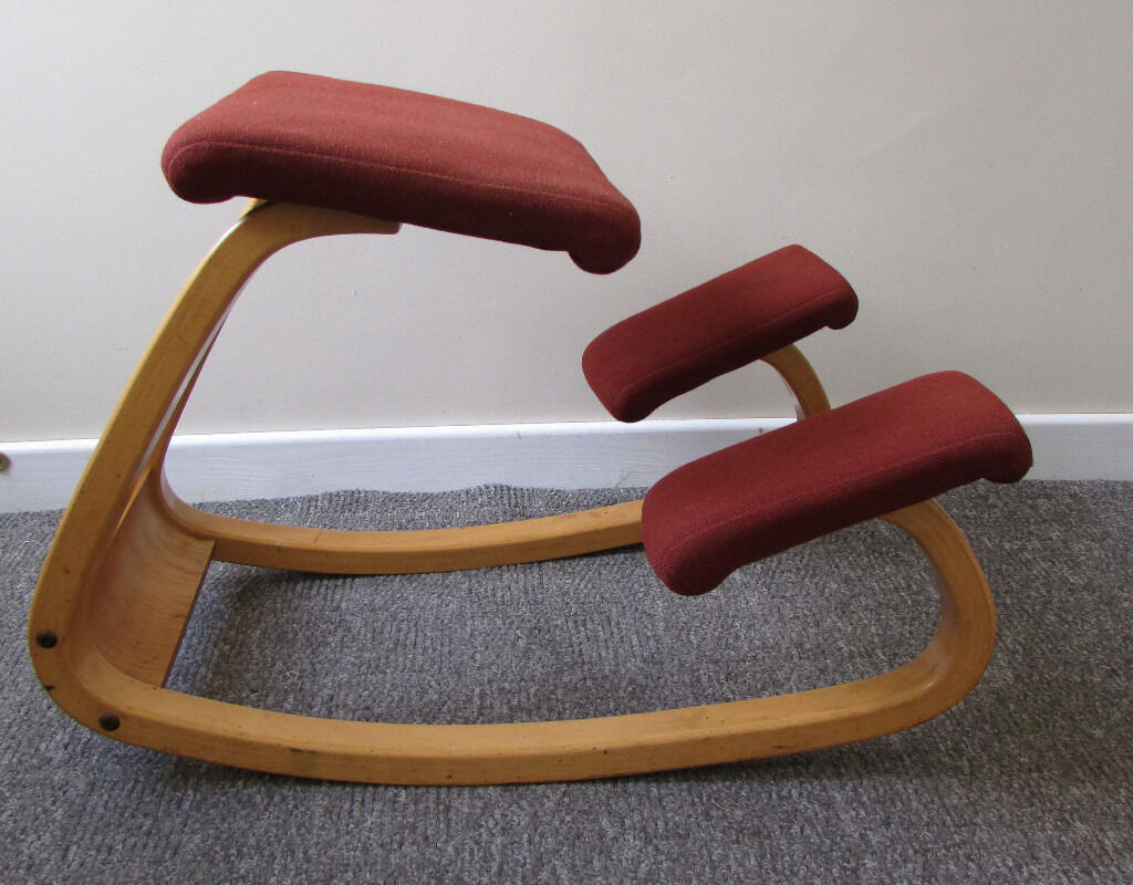 posture chair gumtree balancing ball variable balans kneeling office stool stokke