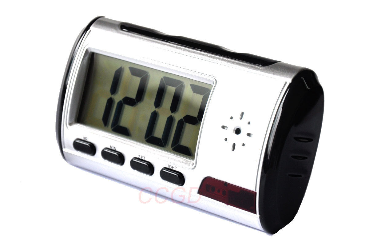 Spy Alarm Clock Hidden Camera Camcorder Motion Detector