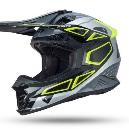 Casco Moto Cross Enduro Ufo Intrepid Taglia XL Offroad Quad ATV MTB Downhill