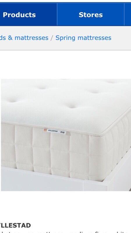 Ikea Sultan Hjartdal Mattress