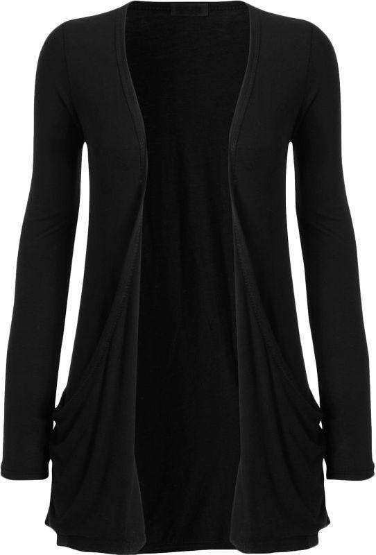 Long Black Cardigan  eBay