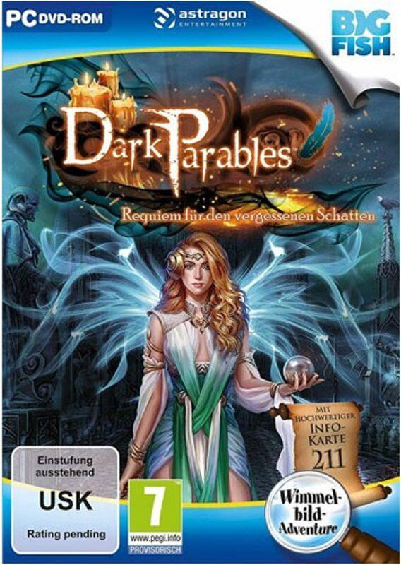 Dark Parables - Requiem für den vergessenen Schatten (PC,2019)  Wimmelbildspiel