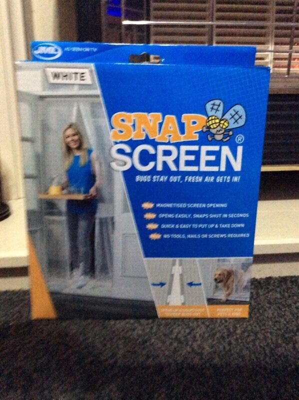 JML Snap Screen Magnetised Mesh Door Curtain In Manchester Gumtree